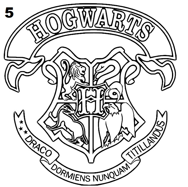 Gryffindor Coloring Sheets Coloring Pages