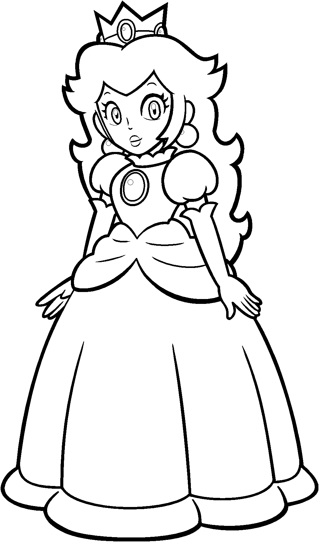 13 Pics Of Peach Mario Kart Coloring Pages - Mario ...