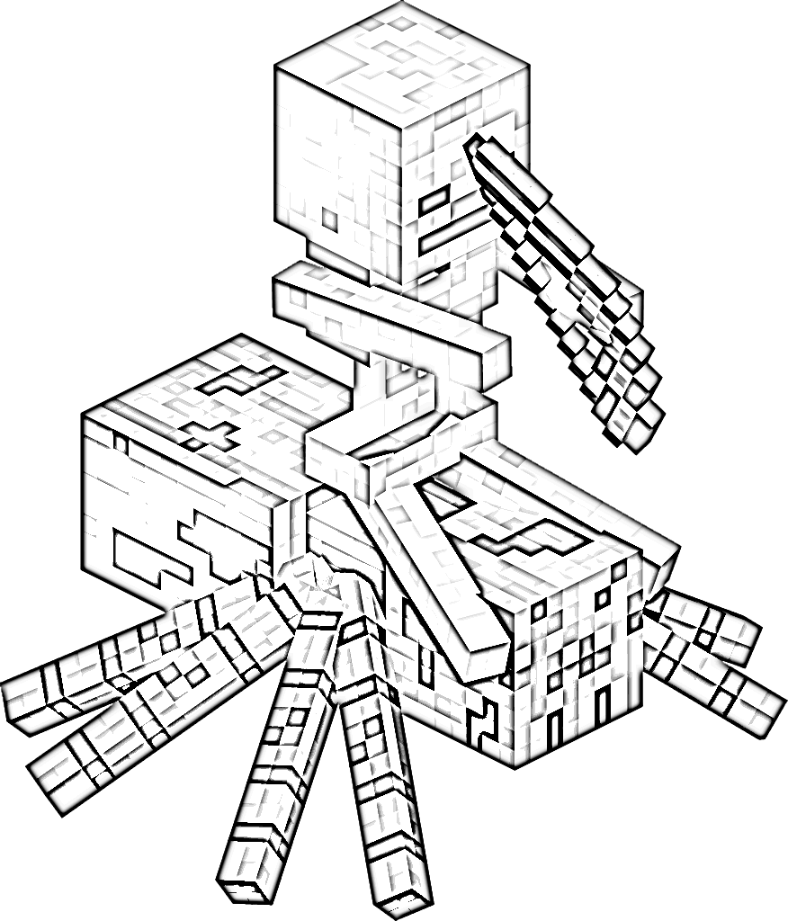 coloring pages minecraft stampylongnose halloween - photo#25