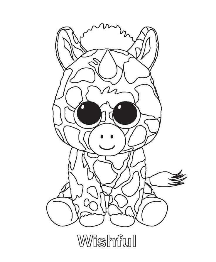 Beanie Boo Coloring Pages | Lily Jo | Pinterest | Beanie Boos ...
