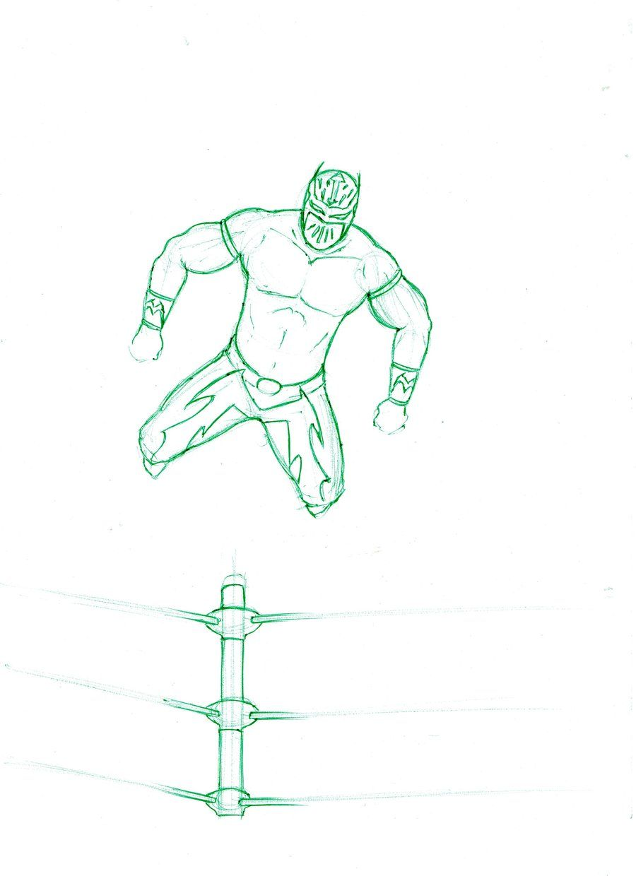 Sin Cara Coloring Pages Coloring