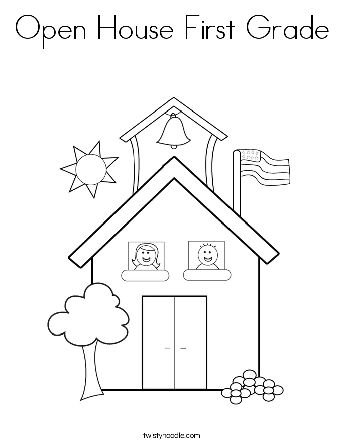 6 pics of coloring page first grade activities printable 1st