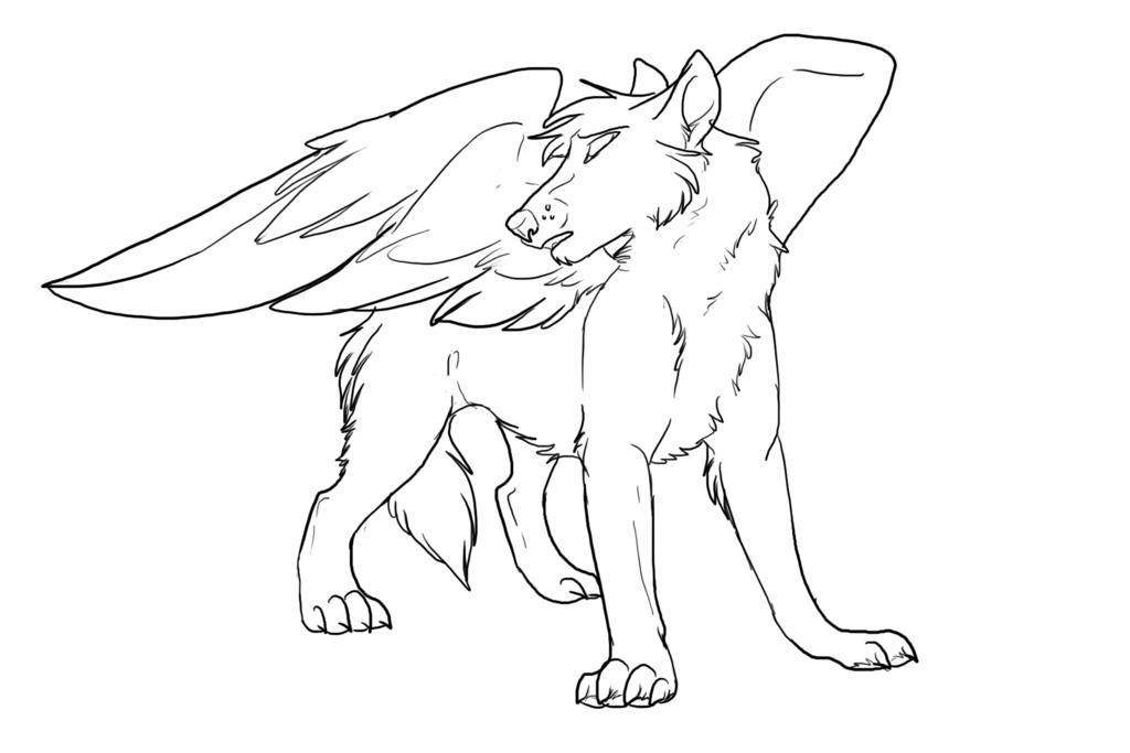 Anime Wolf Pack Coloring Pages Coloring Home