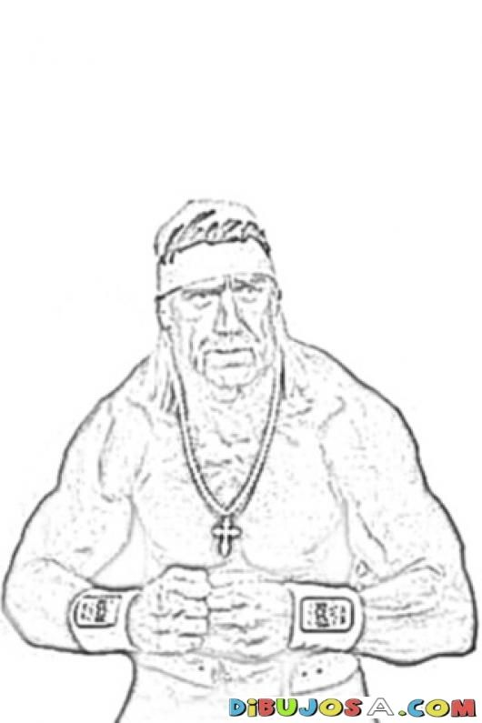 Hulk Hogan Coloring Pages Coloring Home