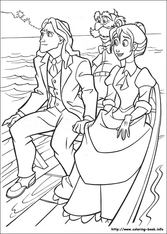 Tarzan And Jane Free Coloring Page - Coloring Home