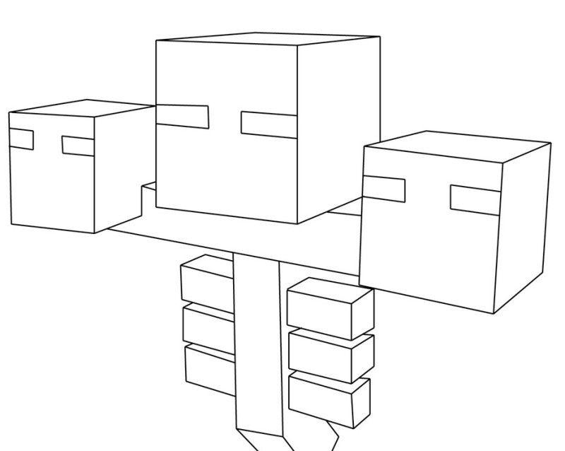 Minecraft Para Colorear Steve: Minecraft Coloring Pages Pdf