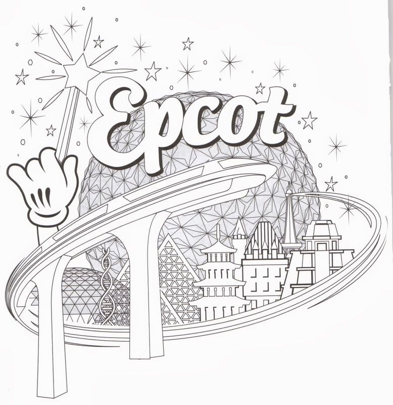 disney magic coloring pages - photo#18