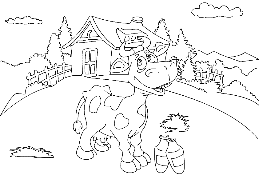 Kids farm animal coloring pages free coloring home for Farm coloring pages for kids