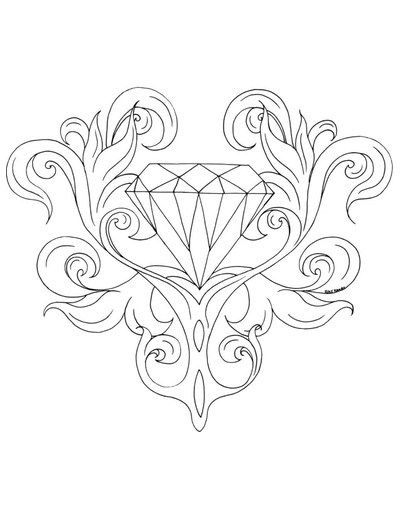 Free Coloring Pages: Cleverpedia's Coloring Page Library | Rose coloring  pages, Love coloring pages, Coloring pages