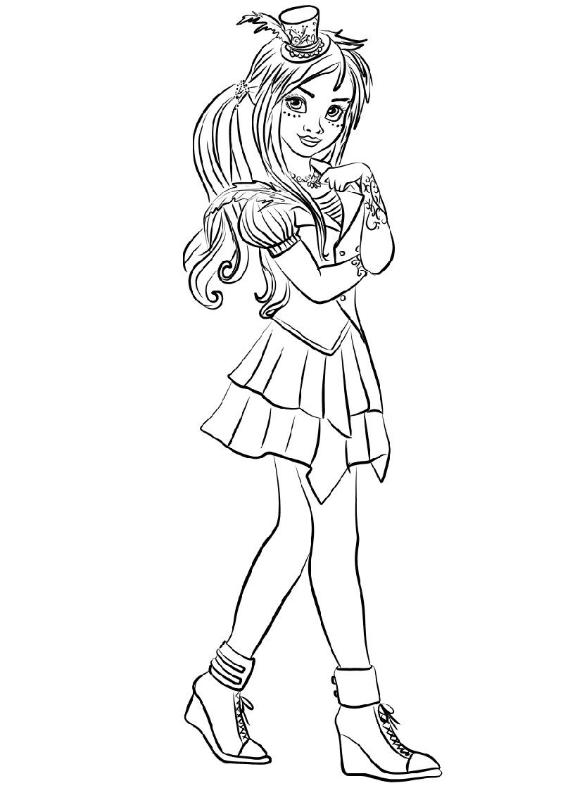 Coloring Pages Descendants Coloring Pages Printable For Kids Games Dress Up Disney Of Evie Splendi Descendants 2 Coloring Pages Printable Picture Ideas Mommaonamissioninc Coloring Home