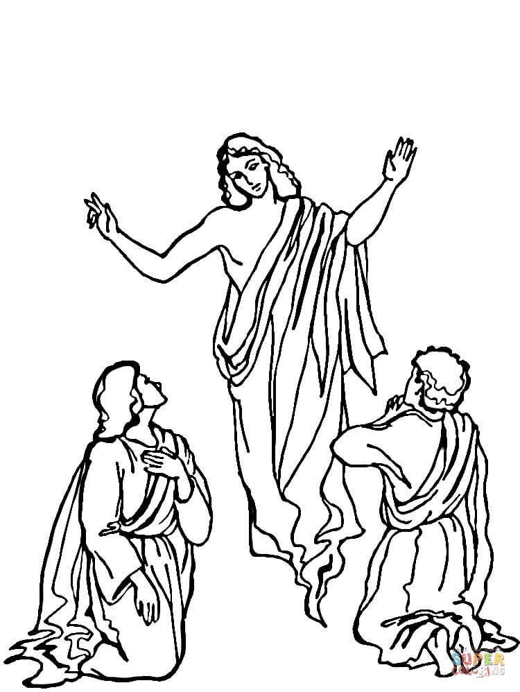 jesus-ascension-coloring-page.jpg (617×800) | Ascension of jesus ... | 998x750