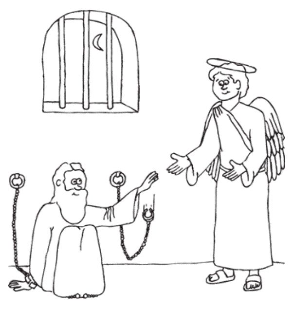 Calvary Kids Coloring Page