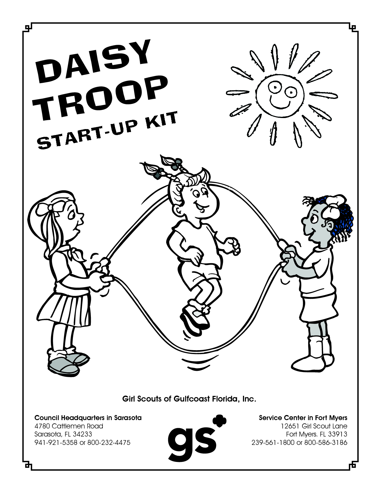 Daisy girl scouts coloring pages free coloring home for Girl scout coloring pages for daisies
