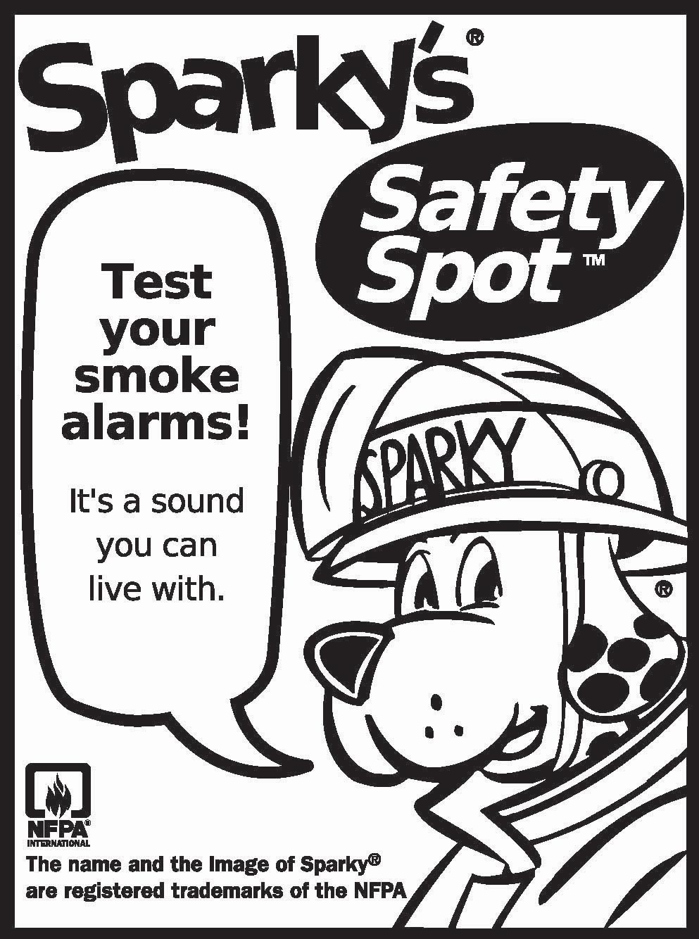 Coloring Pages Fire Dog Coloring Page dalmatian fire dog coloring pages az sparky the safety pages