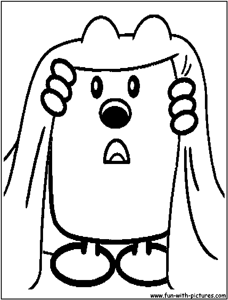 wa wa wubbzy coloring pages - photo #46