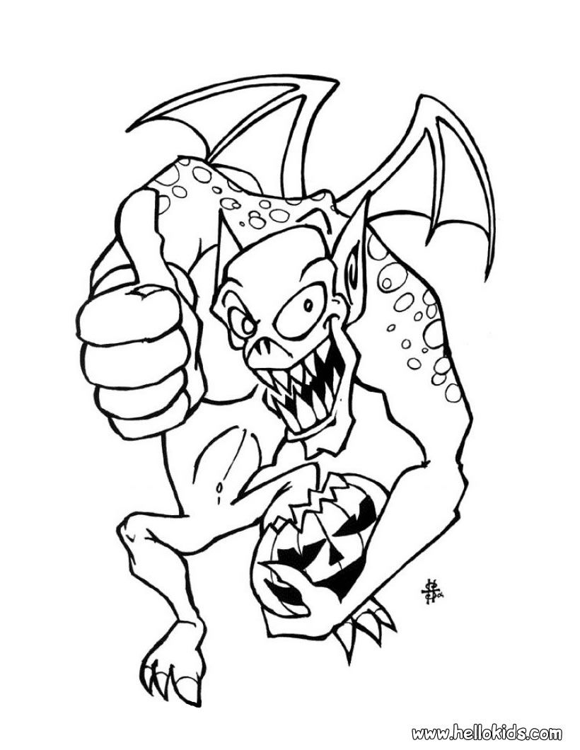 Monster Coloring Pages 2016- Dr. Odd