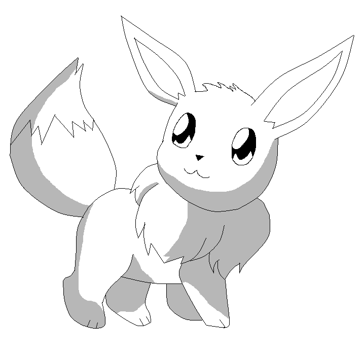 16 Pics Of Eevee Evolutions Coloring Pages Love