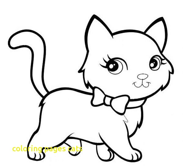 Cat Coloring Pages For Preschoolers at GetDrawings.com ...