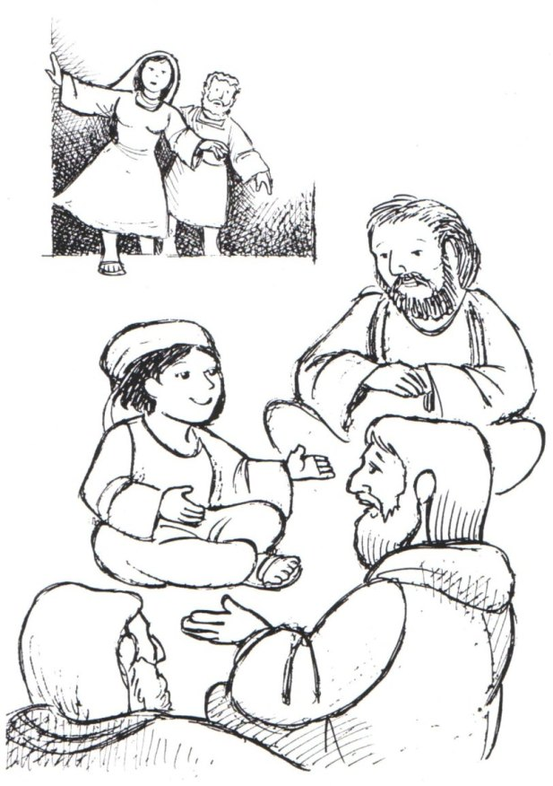 Jesus As A Boy Coloring Pages  Coloring Home