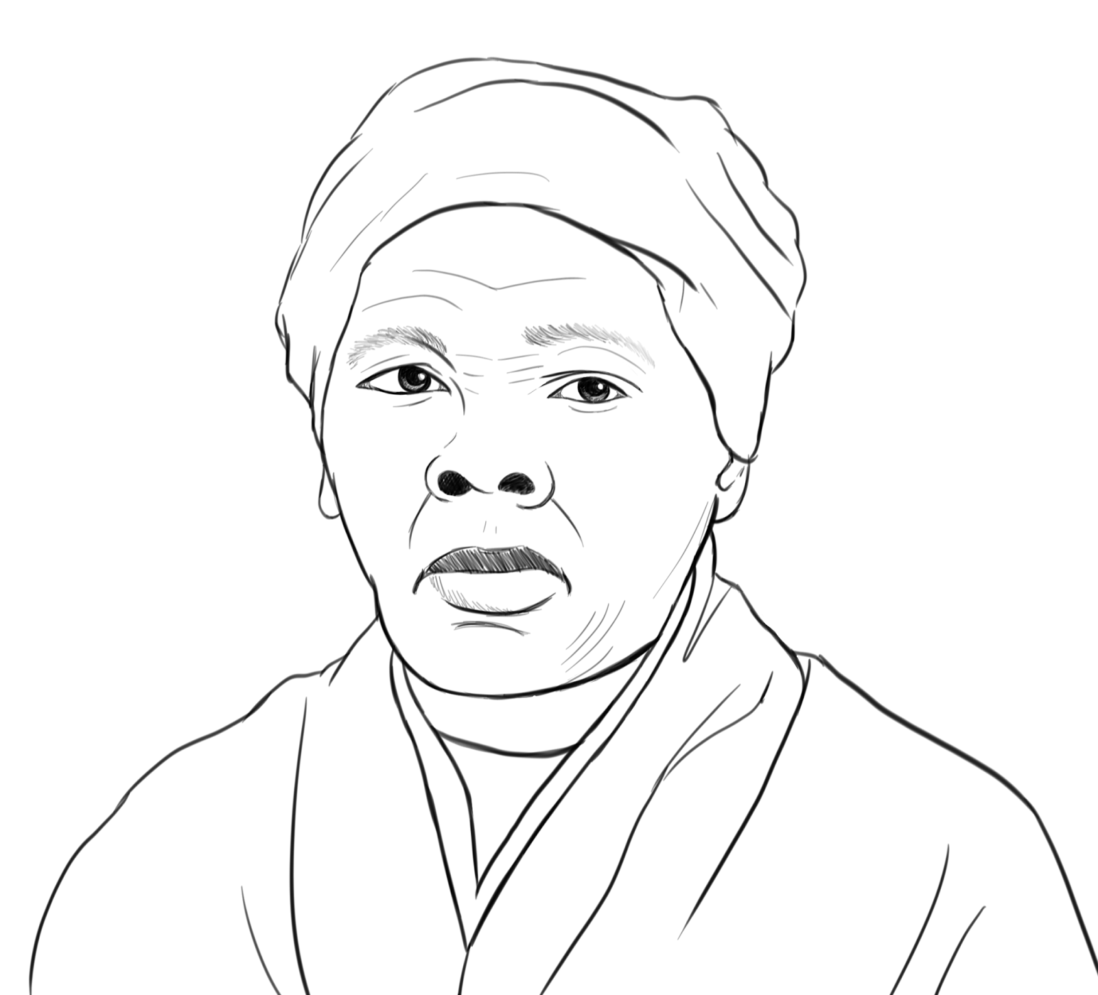 Harriet Tubman Coloring Page Sheets Harriet Tubman Coloring