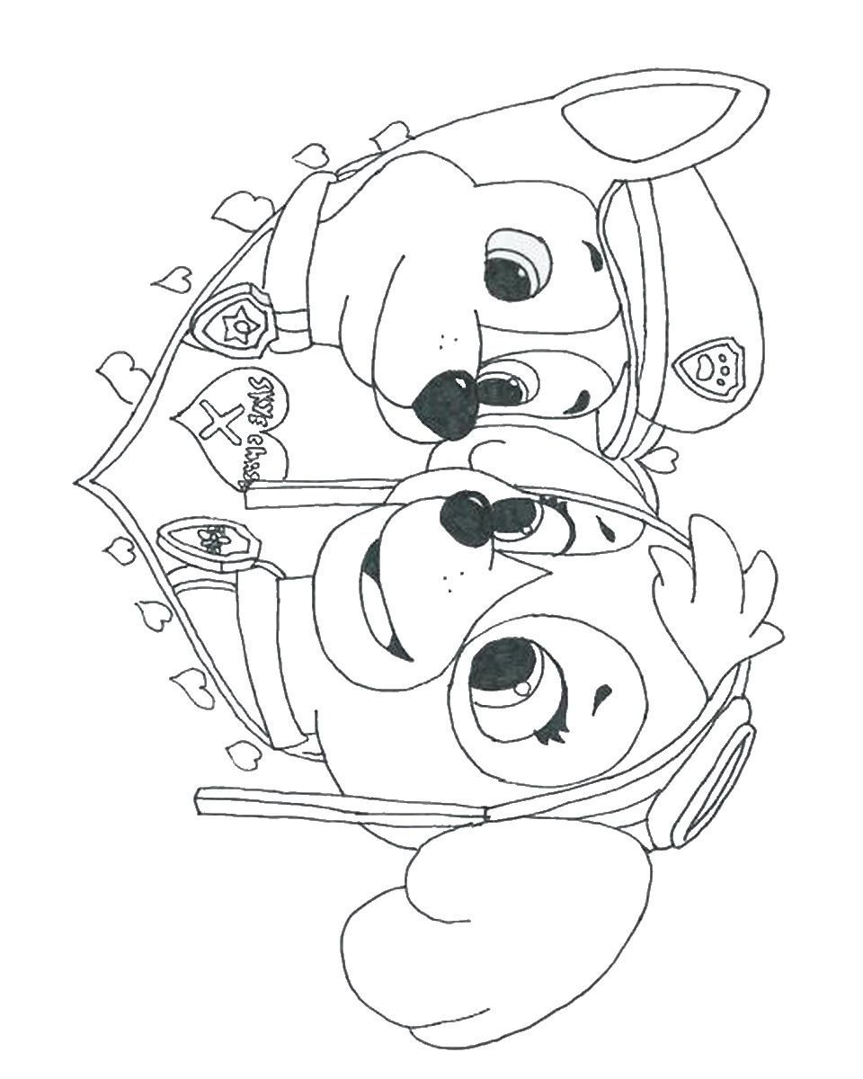 Kids Coloring Pages Paw Patrol at GetDrawings | Free download