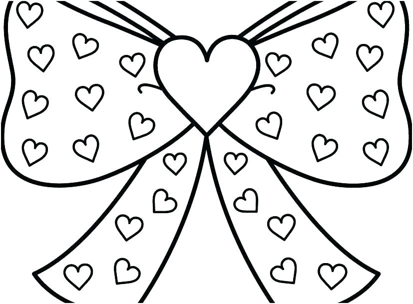 free printable valentine hearts coloring pages ...