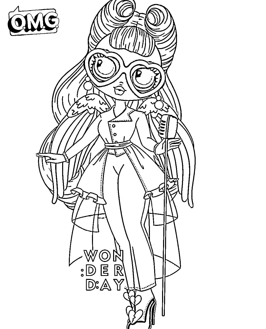 Coloring Pages LOL OMG. Download Or Print New Dolls For ...