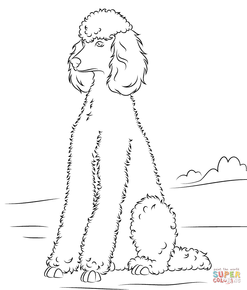 Dogs coloring pages | Free Coloring Pages