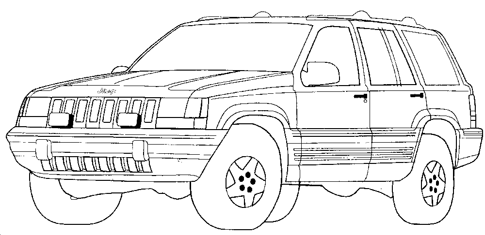 Cars Printable Colouring Pages - High Quality Coloring Pages