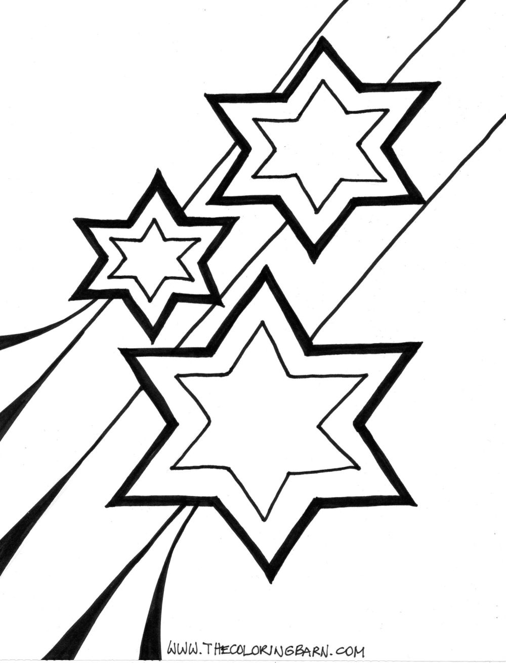 Star Coloring Pages For Preschoolers Coloring Home
