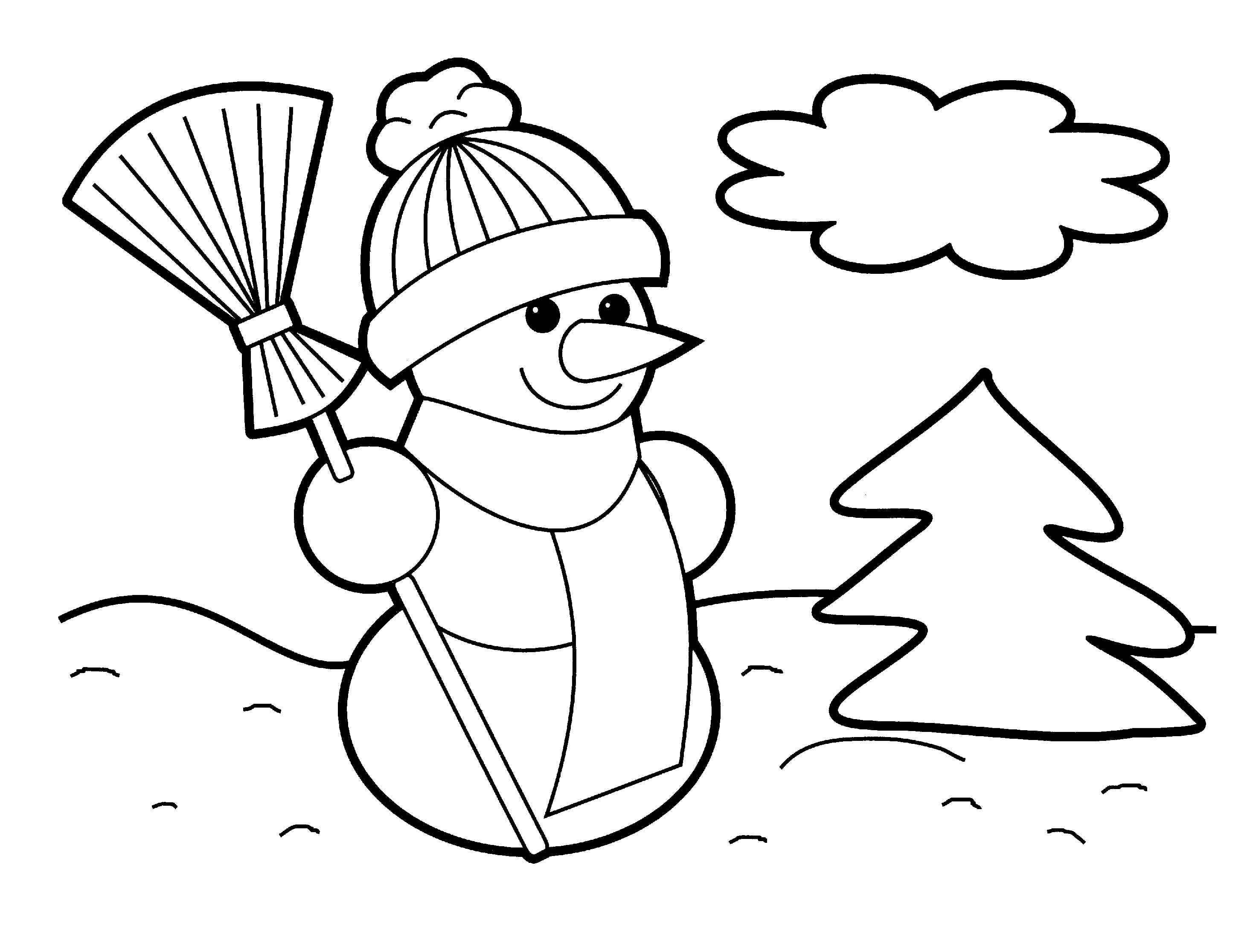 Christmas Clip Art Coloring Pages Coloring Home