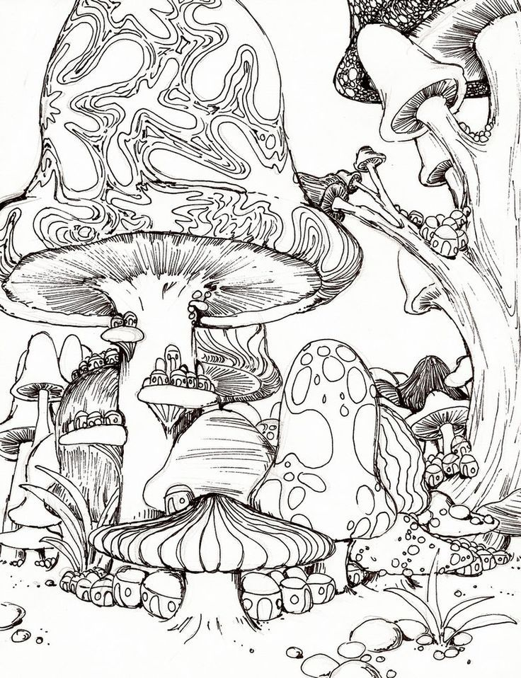 7 Best Images of Free Printable Psychedelic Coloring Pages ...
