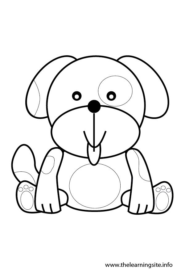 Dog Face Coloring Page - Coloring Home - photo#25