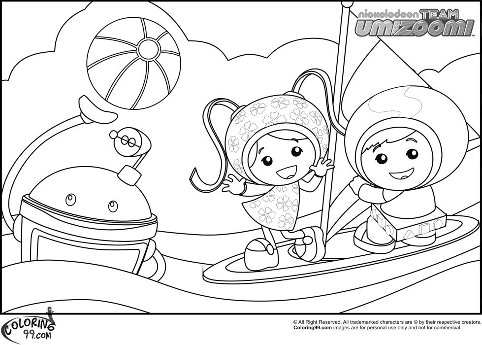 umizoomi coloring pages to print - photo#8