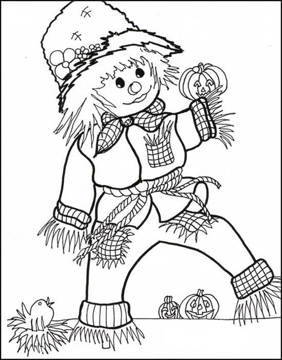 october coloring page printable halloween coloring pages october