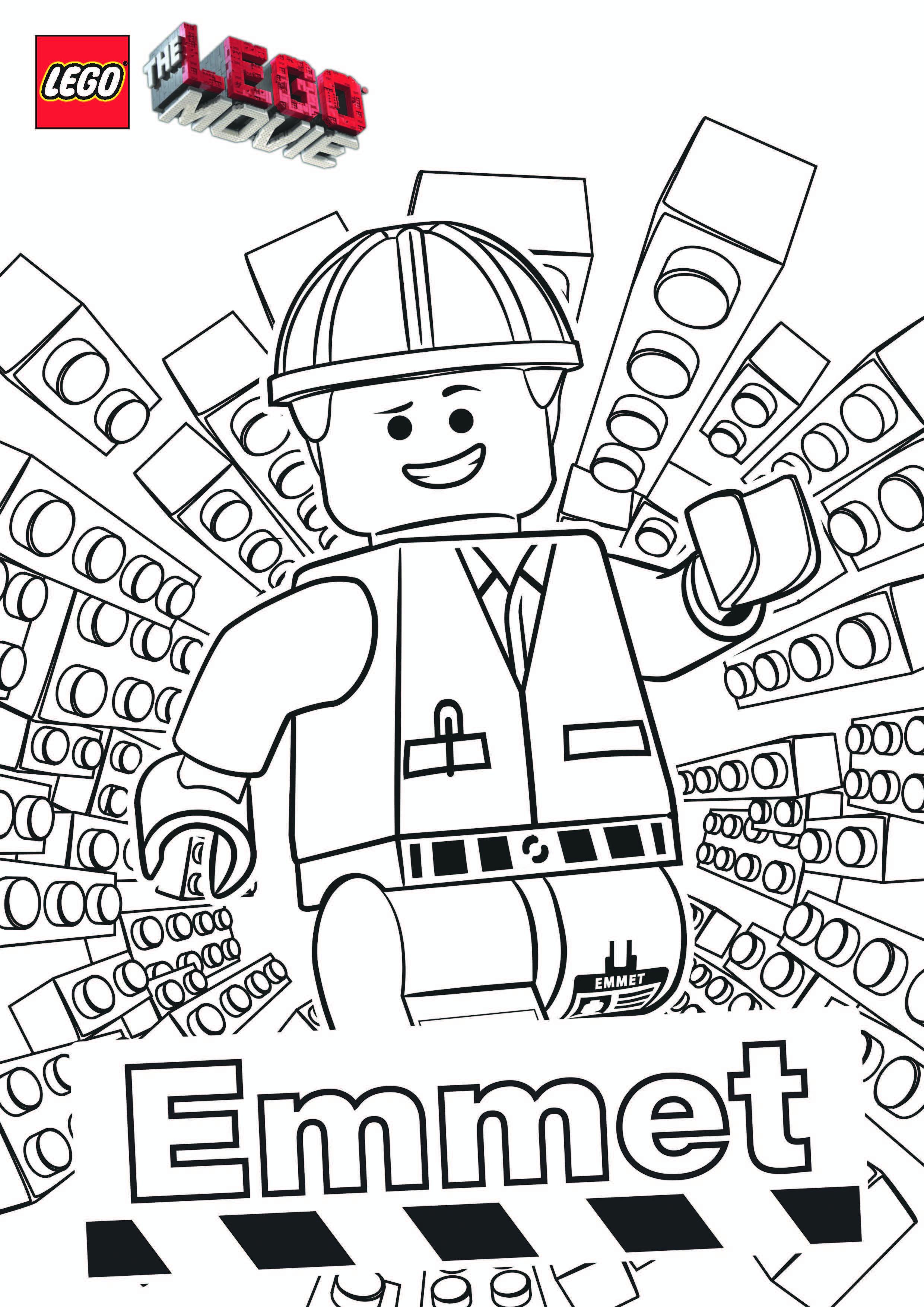 Kleurplaten Lego Emmet.Lego Com The Legoa Movie Explore Downloads Coloring Pages