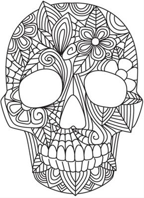 Free Printable Halloween Coloring Page Adults - Coloring Home