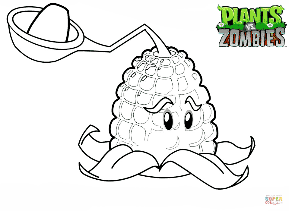 Plants Vs Zombies Peashooter Coloring Pages Coloring Home