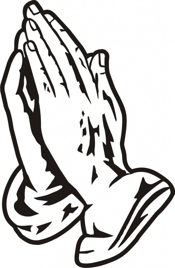 Free Coloring Pages Of Tcross And Praying Hands Image 4108