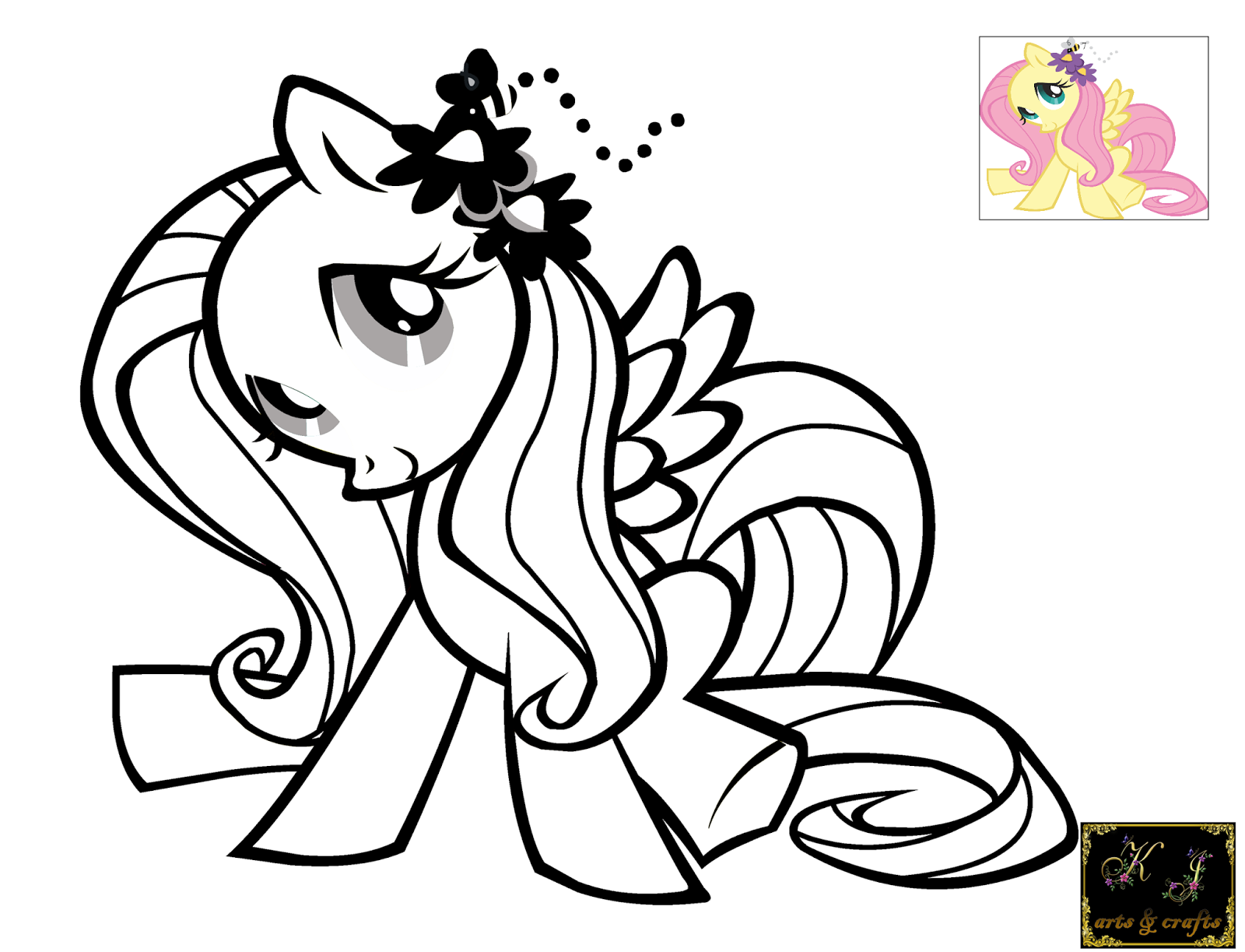 Fluttershy Printable Coloring Pages Coloring Home Fluttershy Coloring Page