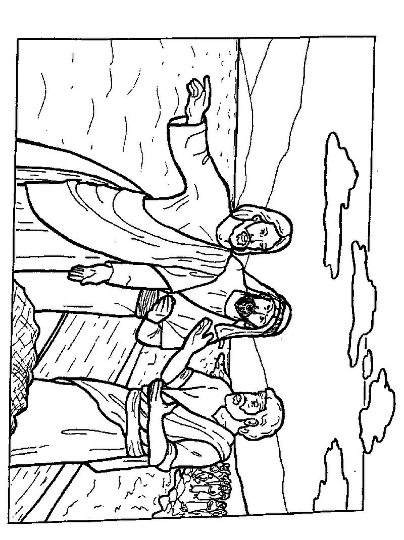disciples coloring pages - photo#34