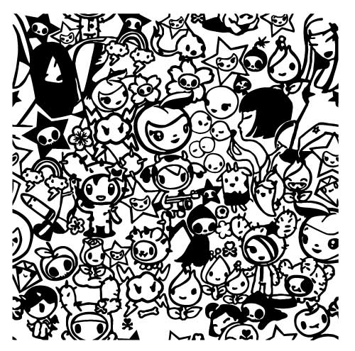 tokidoki coloring pages free coloring kids coloring pages