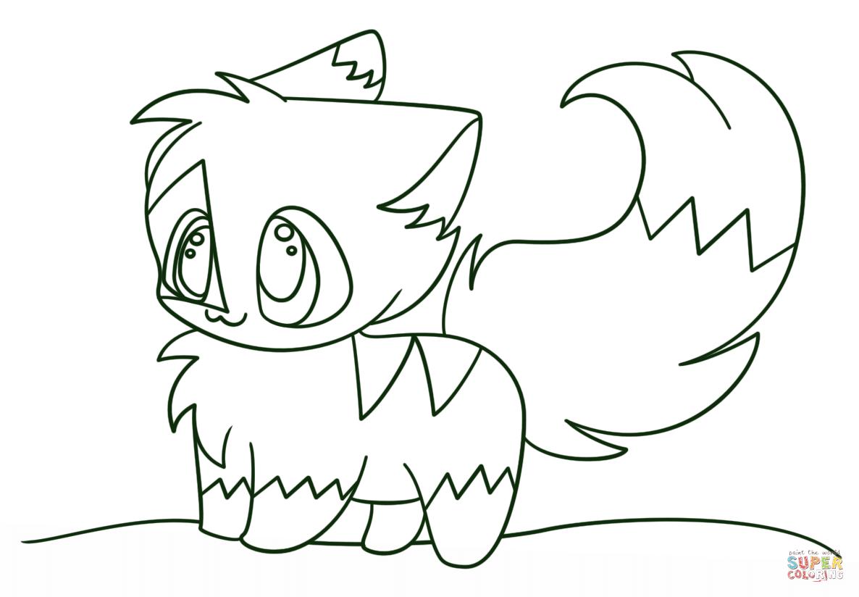 Coloring Pages Of Cute Kawaii Animals Az Coloring Pages Coloring Pages Kawaii