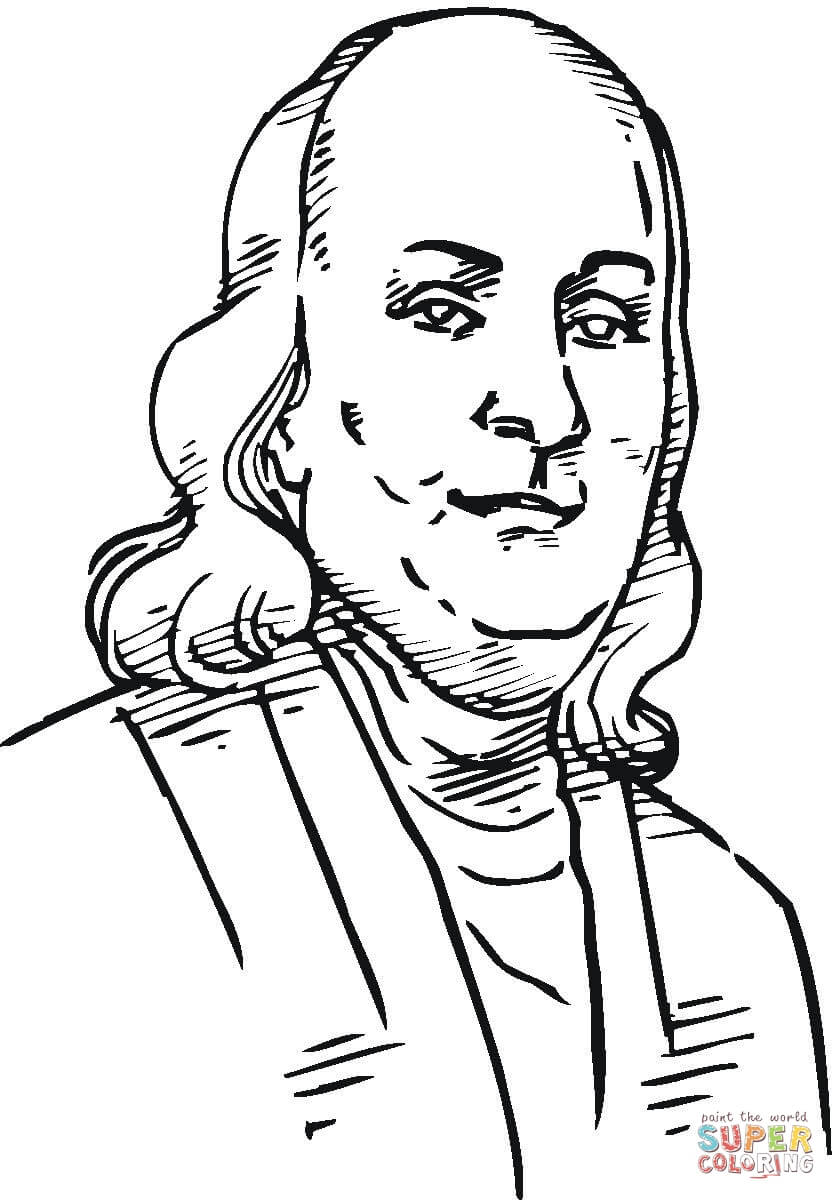 coloring pages ben franklin - photo#4