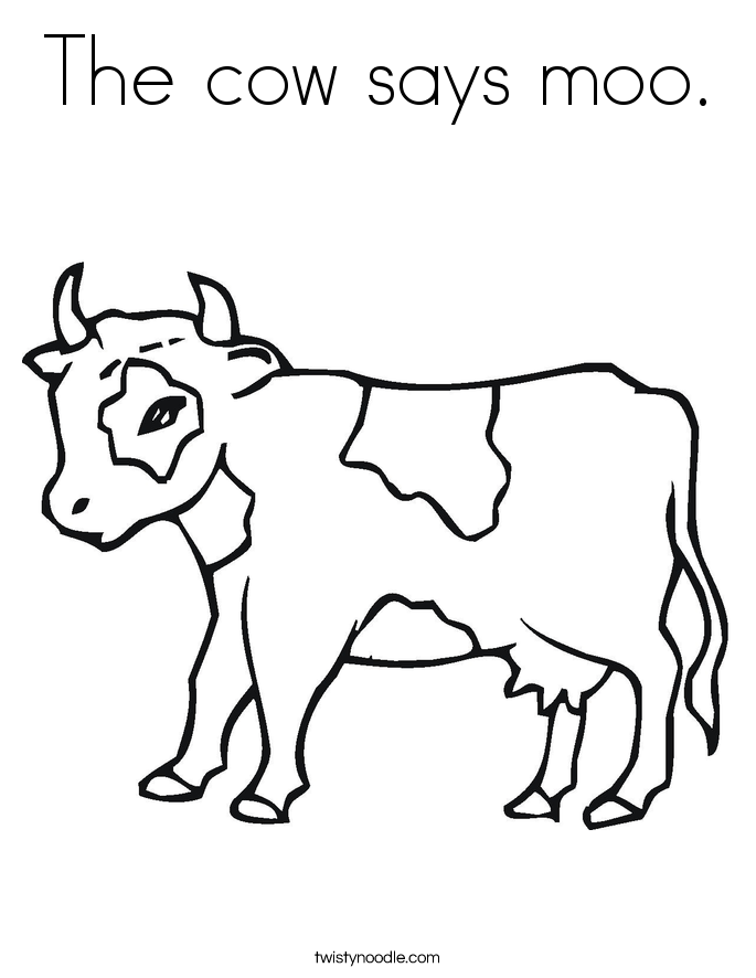 Click Clack Moo Coloring Pages - Coloring Home
