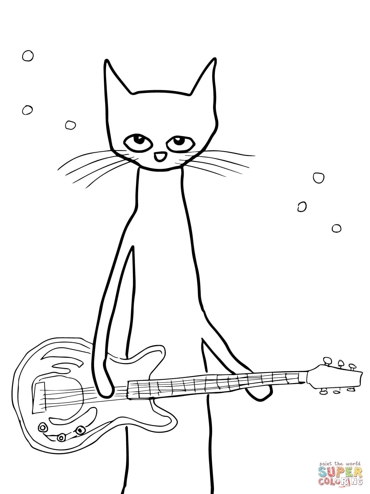 fiddle coloring pages - photo#36