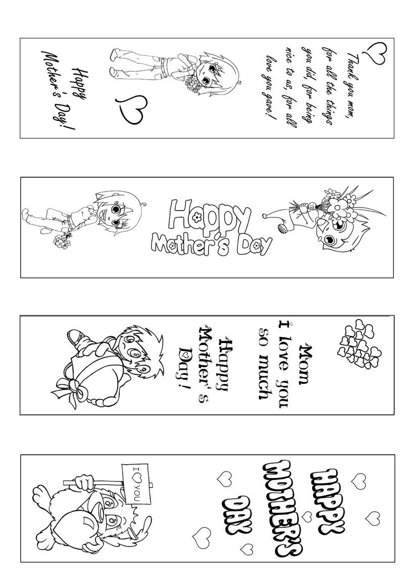 world book day bookmark template - bookmark coloring pages az coloring pages