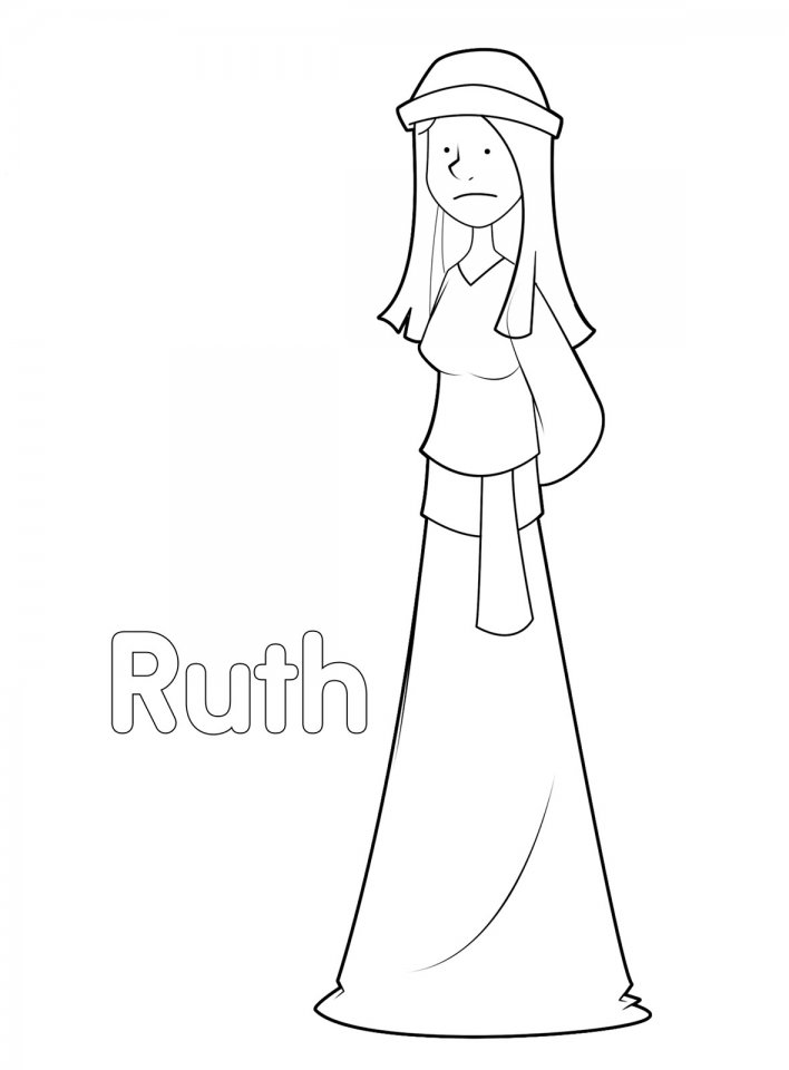 ruth gleaning coloring pages - photo#31