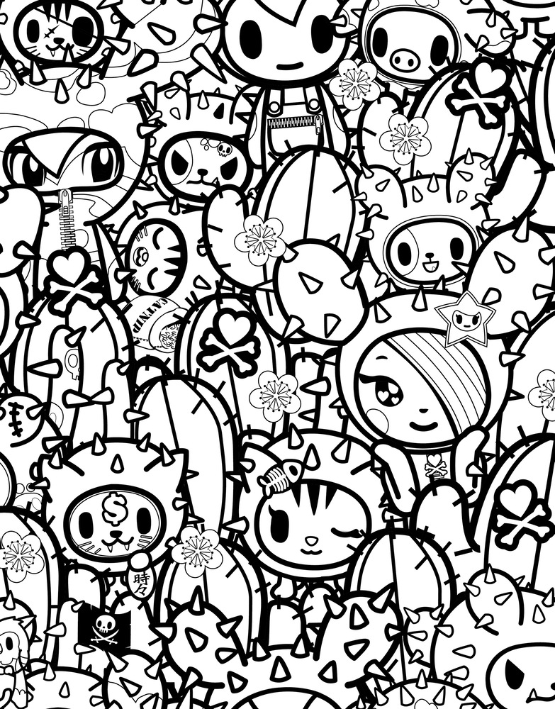 Tokidoki Coloring Pages Az Coloring Pages Tokidoki Coloring Pages