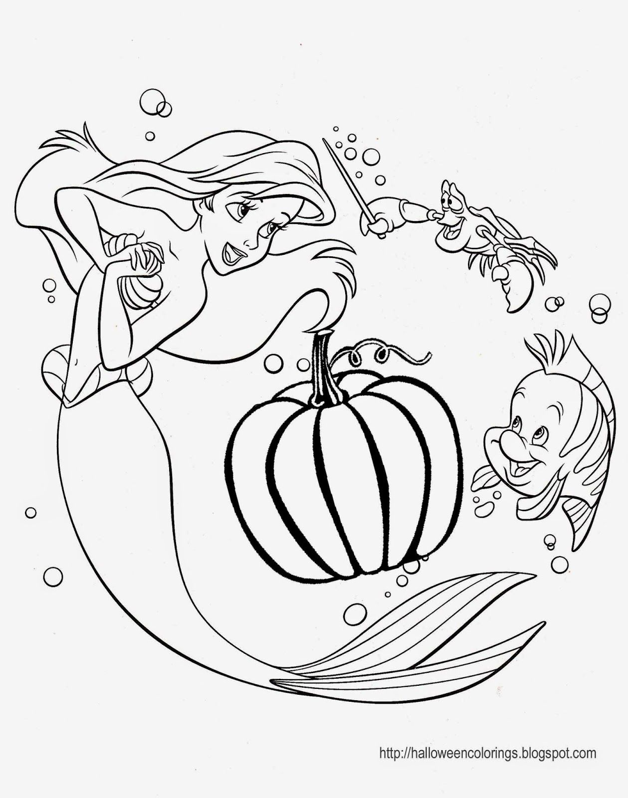 Coloring Pages Halloween Pdf : Halloween princess coloring pages home